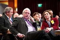 DEU, Deutschland, Germany, Berlin, 09.03.2013:<br />64. Ordentlicher Bundesparteitag der FDP im Hotel Estrel in Berlin-Neukölln. Jörg Uwe Hahn (FDP), Landesvorsitzender der FDP in Hessen und Justizminister in Hessen.
