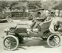 1927 Dr. Edwin O. Palmer's entry in the Old Settlers' Day Parade