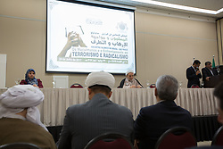 July 29, 2017 - Sao Paulo, Sao Paulo, Brazil - Event ''The Muslims and the confrontation against terrorism and radicalism'' promoted by the Islamic Center in Brazil at a hotel in Sao Paulo, Brazil on Saturday (29) (Credit Image: © Paulo Lopes via ZUMA Wire)