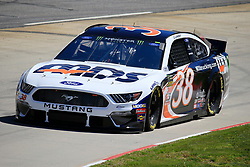 March 23, 2019 - Martinsville, VA, U.S. - MARTINSVILLE, VA - MARCH 23: #38: David Ragan, Front Row Motorsports, Ford Mustang MDS Transport during final practice for the STP 500 Monster Energy NASCAR Cup Series race on March 23, 2019 at the Martinsville Speedway in Martinsville, VA.  (Photo by David J. Griffin/Icon Sportswire) (Credit Image: © David J. Griffin/Icon SMI via ZUMA Press)