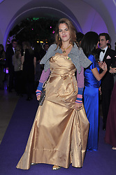 TRACEY EMIN at The Surrealist Ball in aid of the NSPCC in association with Harpers Bazaar magazine held at the Banqueting House, Whitehall, London on 17th March 2011.