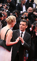 Carey Mulligan, Oscar Isaac, at the The Coen brother's new film 'Inside Llewyn Davis' red carpet gala screening at the Cannes Film Festival Sunday 19th May 2013