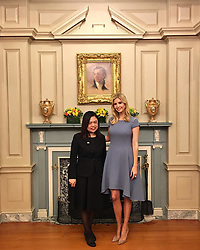"Ivanka Trump releases a photo on Instagram with the following caption: ""Meet Boom Mosby, Founder and Director of Hope, Understanding, and Grace (HUG) Project. Boom is an incredible advocate for victims of sexual abuse in Thailand and has been a key contributor to Thai anti-trafficking efforts. As Boom wisely shared yesterday, \"". Photo Credit: Instagram *** No USA Distribution *** For Editorial Use Only *** Not to be Published in Books or Photo Books ***  Please note: Fees charged by the agency are for the agency's services only, and do not, nor are they intended to, convey to the user any ownership of Copyright or License in the material. The agency does not claim any ownership including but not limited to Copyright or License in the attached material. By publishing this material you expressly agree to indemnify and to hold the agency and its directors, shareholders and employees harmless from any loss, claims, damages, demands, expenses (including legal fees), or any causes of action or allegation against the agency arising out of or connected in any way with publication of the material."