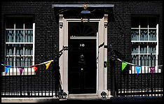 No10 Olympic Bunting-july 2012