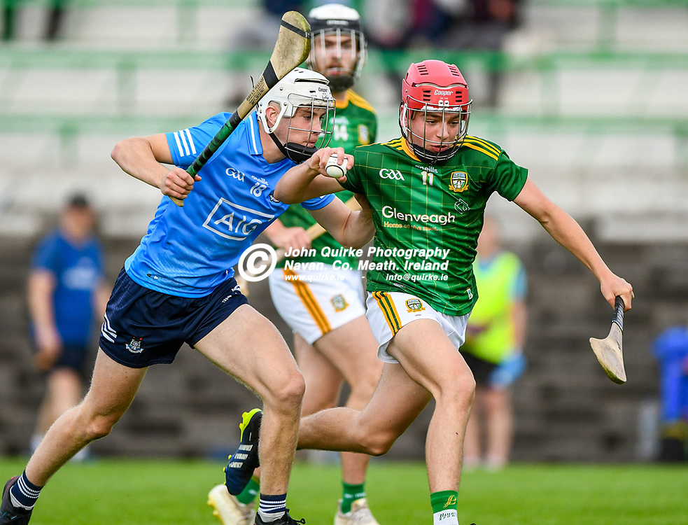 Tom Shine,  in action for Meath,  during the Meath v Dublin,  Leinster MHC quarter-final match at Pairc Tailteann, Navan.<br /> <br /> Photo: GERRY SHANAHAN-WWW.QUIRKE.IE<br /> <br /> 14-07-2021