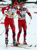 Tord Asle Gjerdalen und Martin Johnsrud Sundby (NOR) (Pascal Muller/EQ Images)