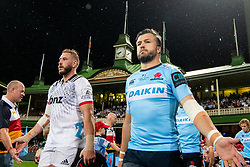 March 23, 2019 - Sydney, NSW, U.S. - SYDNEY, NSW - MARCH 23: Waratahs player Adam Ashley-Cooper (13) walks onto the field at round 6 of Super Rugby between NSW Waratahs and Crusaders on March 23, 2019 at The Sydney Cricket Ground, NSW. (Photo by Speed Media/Icon Sportswire) (Credit Image: © Speed Media/Icon SMI via ZUMA Press)