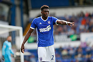 Ipswich Town defender Dominic Iorfa (2) during the EFL Sky Bet Championship match between Ipswich Town and Fulham at Portman Road, Ipswich, England on 26 August 2017. Photo by Phil Chaplin.
