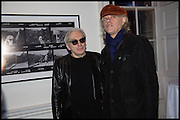 CHRIS STEIN; SIR BOB GELDOF; , Chris Stein / Negative: Me, Blondie, and The Advent of Chris Stein / Negative: Me, Blondie, and The Advent of Punk - private view, Somerset House, the Strand. London. 5 November 2014.