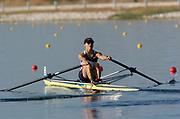 20040814 Olympic Games Athens Greece [Rowing]<br /> Photo  Peter Spurrier <br /> USA W1X Jennifer Devine<br /> email;  images@intersport-images.com<br /> Tel +44 7973 819 551<br /> T<br /> <br /> <br /> [Mandatory Credit Peter Spurrier/ Intersport Images]