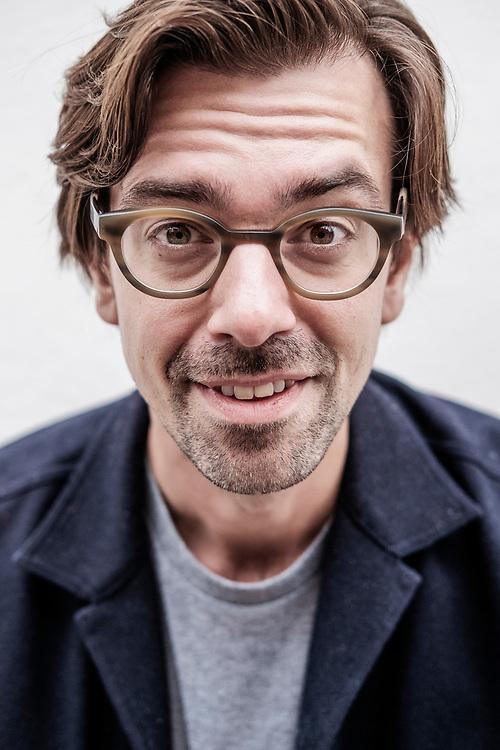 Netherlands. Utrecht, 16-10-2019. Photo: Patrick Post. Portret van documentairemaker Ruben Terlou.