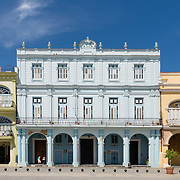Spanish Colonial architecture in Plaza Vieja, Havana