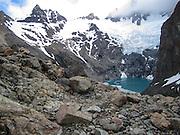Los Glaciares National Park, Santa Cruz Province, Argentina. Glacier Lake