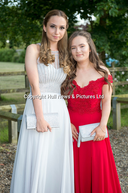 21 JUne 2019: Louth Academy Year 11 Prom at Brackenborough Hotel.<br /> (l-r) Jodie Fryer and Isabel Meese (corr).<br /> Picture: Sean Spencer/Hull News & Pictures Ltd<br /> 01482 210267/07976 433960<br /> www.hullnews.co.uk         sean@hullnews.co.uk