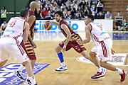 DESCRIZIONE : Milano Lega A 2013-14 Cimberio Varese vs Umana Reyer Venezia <br /> GIOCATORE : Vitali Luca<br /> CATEGORIA : Palleggio<br /> SQUADRA :Umana Venezia<br /> EVENTO : Campionato Lega A 2013-2014<br /> GARA : Cimberio Varese vs Umana Reyer Venezia<br /> DATA : 27/10/2013<br /> SPORT : Pallacanestro <br /> AUTORE : Agenzia Ciamillo-Castoria/I.Mancini<br /> Galleria : Lega Basket A 2013-2014  <br /> Fotonotizia : Milano Lega A 2013-14 EA7 Cimberio Varese vs Umana Reyer Venezia<br /> Predefinita :
