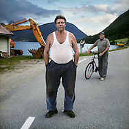 Berhard Strand, in the back Kaare Svidal.12 june 2008