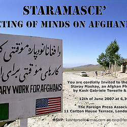Exhibition Salento Afghanistan
