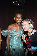 l to r: Iya Dede and Ginny Suss at The ROOTS Present the Jam produced by Jill Newman Productions held at Highline Ballroom on April 29, 2009 in New York City
