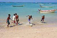 Yemen, ile de Socotra. village de Qalansia. // Yemen, Socotra island, Qalansia village.