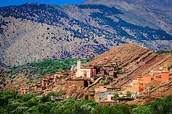 The village of Tinmel, above the Oued N'Fis, Marrakech-Tensift-Al Haouz, Morocco<br /> <br /> (c) Andrew Wilson   Edinburgh Elite media