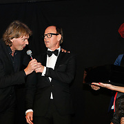 NLD/Amsterdam/20091121 - JFK Great men of the Year Gala 2009, Matthijs van Nieuwkerk en Gerard Baars