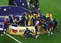 Celebration Victory France <br /> Moscow 15-07-2018 Football FIFA World Cup Russia  2018 Final / Finale <br /> France - Croatia / Francia - Croazia <br /> Foto Matteo Ciambelli/Insidefoto