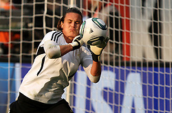 30.06.2011, Commerzbank Arena, Frankfurt, GER, FIFA Women Worldcup 2011, Gruppe A, Deutschland (GER) vs. Nigeria (NGA), im Bild .Torhüterin Nadine Angerer (GER) bei der Erwärmung .// during the FIFA Women Worldcup 2011, Pool A, Germany vs Nigeria on 2011/06/30, Commerzbank Arena, Frankfurt, Germany.  EXPA Pictures © 2011, PhotoCredit: EXPA/ nph/  Karina Hessland       ****** out of GER / CRO  / BEL ******