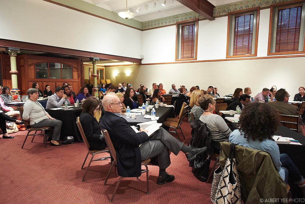 Leading 'Individuals' Toward Resource Sharing<br /> <br /> A select panel of organizational design, sociology, psychology, and other social science experts looking at the issues from their field vantages, focusing on solutions and ways of framing the issues, language, and practices.<br /> <br /> Panelists: [L-R] Debra Box, Executive Director, Support Kansas City; Carl Swanson, Springboard for the Arts; Andrew Ward, Psychology, Swarthmore College; Syon Bhanot (Moderator) - Economics, Swarthmore College<br /> <br /> Nonprofits are increasingly asked to work collaboratively to achieve scale and impact.  Much has been covered on the legal and financial aspects of collaboration, but why is it still hard?  This symposium will bring together social science experts and nonprofit practitioners to learn from one another about how the latest research can inform the human dynamics that challenge nonprofit resource sharing.<br /> by The Nonprofit Centers Network & Culture Works<br /> April 28, 2016