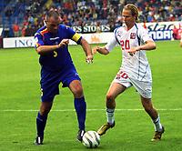 ◊Copyright:<br />GEPA pictures<br />◊Photographer:<br />Thomas Karner<br />◊Name:<br />Lima<br />◊Rubric:<br />Sport<br />◊Type:<br />Fussball<br />◊Event:<br />FIFA WM 2006, Qualifikation, Tschechien vs Andorra, CZE vs AND<br />◊Site:<br />Liberec, Tschechien<br />◊Date:<br />04/06/05<br />◊Description:<br />Toni Lima (AND), Jaroslav Plasil (CZE)<br />◊Archive:<br />DCSTK-0406054031<br />◊RegDate:<br />05.06.2005<br />◊Note:<br />OK/JM - Nutzungshinweis: Es gelten unsere Allgemeinen Geschaeftsbedingungen (AGB) bzw. Sondervereinbarungen in schriftlicher Form. Die AGB finden Sie auf www.GEPA-pictures.com.<br />Use of picture only according to written agreements or to our business terms as shown on our website www.GEPA-pictures.com