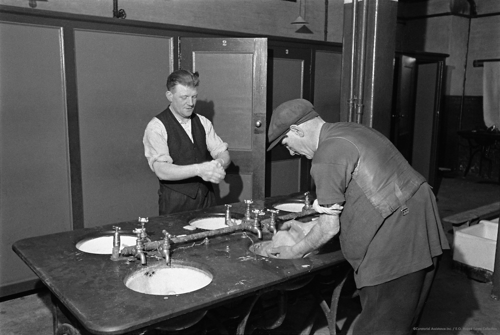 Down and Outs in Hostels, London, c1945
