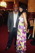 14 June 2010- Harlem, New York- l to r: Co-President of Programming at BET Networks, Stephen Hill and Tasha Perri at The Apollo Theater's 2010 Spring Benefit and Awards Ceremony hosted by Jamie Foxx inducting Aretha Frankilin and Michael Jackson, and honoring Jennifer Lopez and Marc Anthony co- sponsored by Moet et Chandon which was held at the Apollo Theater on June 14, 2010 in Harlem, NYC. Photo Credit: Terrence Jennngs/Sipa