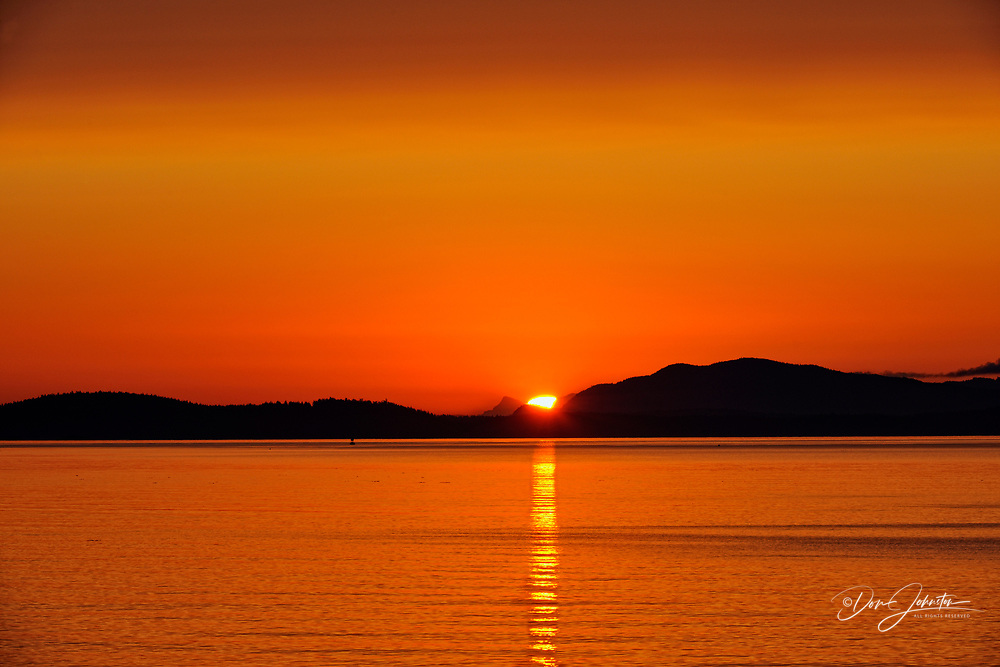 Cordova Bay at Sunrise, Victoria, BC, Canada