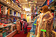 The Chandan Saree shop in the Geerrard India Bazaar, otherwise known as Little India