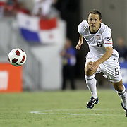 USA defender Steve Cherundolo (6) chases the ball during a CONCACAF Gold Cup soccer match between the United States and Panama on Saturday, June 11, 2011, at Raymond James Stadium in Tampa, Fla. (AP Photo/Alex Menendez)