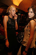 Lady Sophia Hesketh and Caroline Sieber, book launch party, Annabel's, Berkeley Square, London, W1,10 May 2006.  Matthew Williamson, Catherine Vautrin, Laudomia Pucci host party to celebrate 'The Debutante Divorcee'. ONE TIME USE ONLY - DO NOT ARCHIVE  © Copyright Photograph by Dafydd Jones 66 Stockwell Park Rd. London SW9 0DA Tel 020 7733 0108 www.dafjones.com