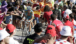 29.08.2011, Andalusien, ESP, LA VUELTA 2011, Stage 17, im Bild Robert Kiserlovski during the stage of La Vuelta 2011 between Faustino V and Pena Cabarga.September 7,2011. EXPA Pictures © 2011, PhotoCredit: EXPA/ Alterphoto/ Paola Otero +++++ ATTENTION - OUT OF SPAIN/(ESP) +++++