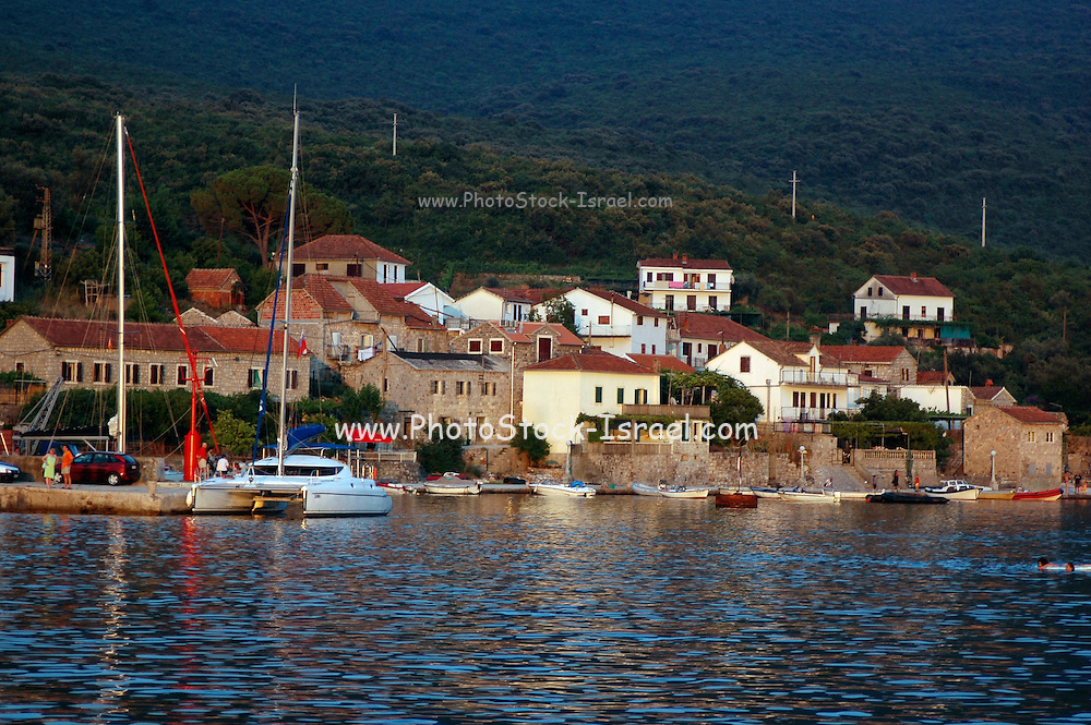 Montenegro, Kotor, A view from the bay