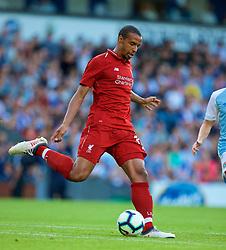 BLACKBURN, ENGLAND - Thursday, July 19, 2018: Liverpool's Joel Matip during a preseason friendly match between Blackburn Rovers FC and Liverpool FC at Ewood Park. (Pic by Paul Greenwood/Propaganda)