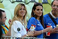 """rOBERTA marchisio , Cristiana DE PIN (Italia)<br /> Danzica 10/06/2012  """"GDANSK ARENA""""<br /> Football calcio Europeo 2012  Spagna Vs Italia <br /> Football Calcio Euro 2012<br /> Foto Insidefoto Alessandro Sabattini"""