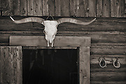 Farm and ranch details in the wild west.