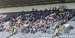 Falkirk fans.<br /> Raith Rovers 1 v 1 Falkirk, Scottish Championship 28/9/2013.<br /> ©Michael Schofield.