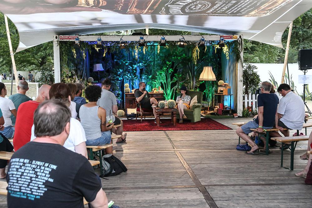 A Summerstale 2018, Lohmühlen, 04.08.2018<br /> Galore Interview Live mit der Musikerin Kat Frankie<br /> © Torsten Helmke