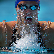 Richard Webb, Great Britain, in action during the Men's 200m Breaststroke heats at the World Swimming Championships in Rome on Thursday, July 30, 2009. Photo Tim Clayton.