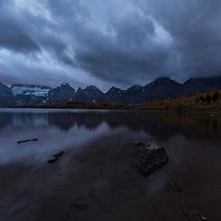 Valley of the Ten Peaks sunrise