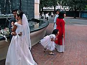Vietnam, Hanoi: wedding.