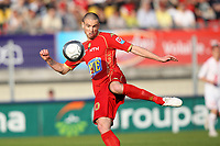FOOTBALL - FRENCH CHAMPIONSHIP 2009/2010 - L1 - LE MANS UC v LILLE OSC - 24/04/2010 - PHOTO ERIC BRETAGNON / DPPI - ANTHONY LE TALLEC (MANS)