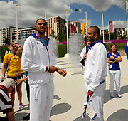 DESCRIZIONE : France Basketball Jeux Olympiques Londres <br /> GIOCATORE : Parker Tony Diaw Boris<br /> SQUADRA : France Homme<br /> EVENTO : FRANCE Basket Jeux Olympiques<br /> GARA : <br /> DATA : 30 07 2012<br /> CATEGORIA : Basketball Jeux Olympiques<br /> SPORT : BASKETBALL<br /> AUTORE : JF Molliere <br /> Galleria : France JEUX OLYMPIQUES 2012 Magazine<br /> Fotonotizia :France Basketball Jeux Olympiques Londres Village Olympique<br /> Predefinita :