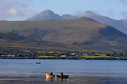 Fishermen pictured fly-fishing on lough Lein, Killarney at the weekend. The fly fishing season comes to an end next weekend.<br /> Picture by Don MacMonagle