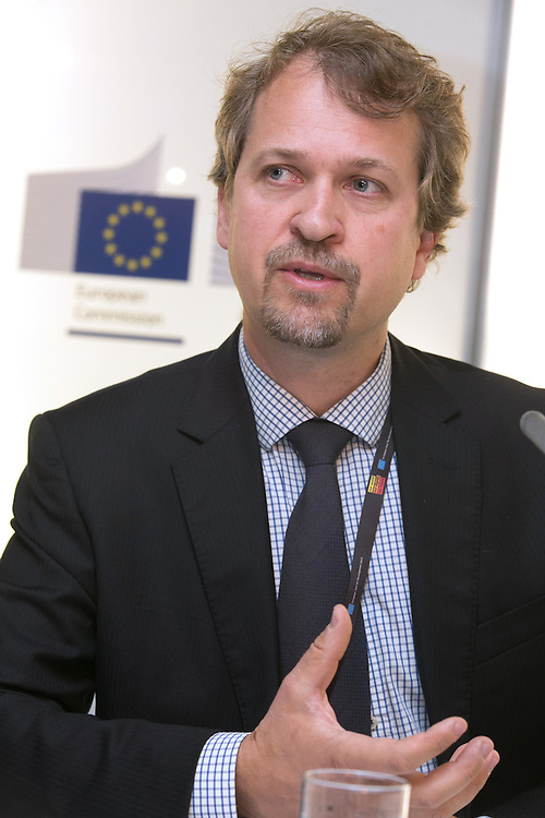 03 June 2015 - Belgium - Brussels - European Development Days - EDD - Growth - Ideas to impact-Innovation prizes for development - Lars Otto Naess<br /> Climate Change Adaptation Theme Leader , Institute of Development Studies © European Union