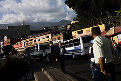Daily life in Petare, one of the largest and most dangerous slums of Caracas.